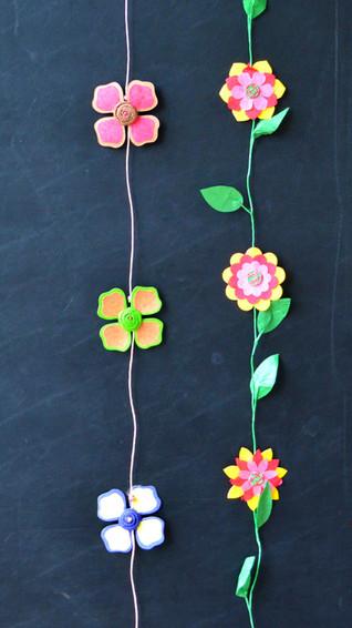 Garland Large Flower Garland and Pink Ye