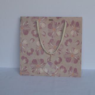 Bag Pink Flower Medium