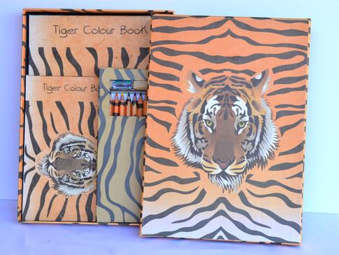Color Book Tiger
