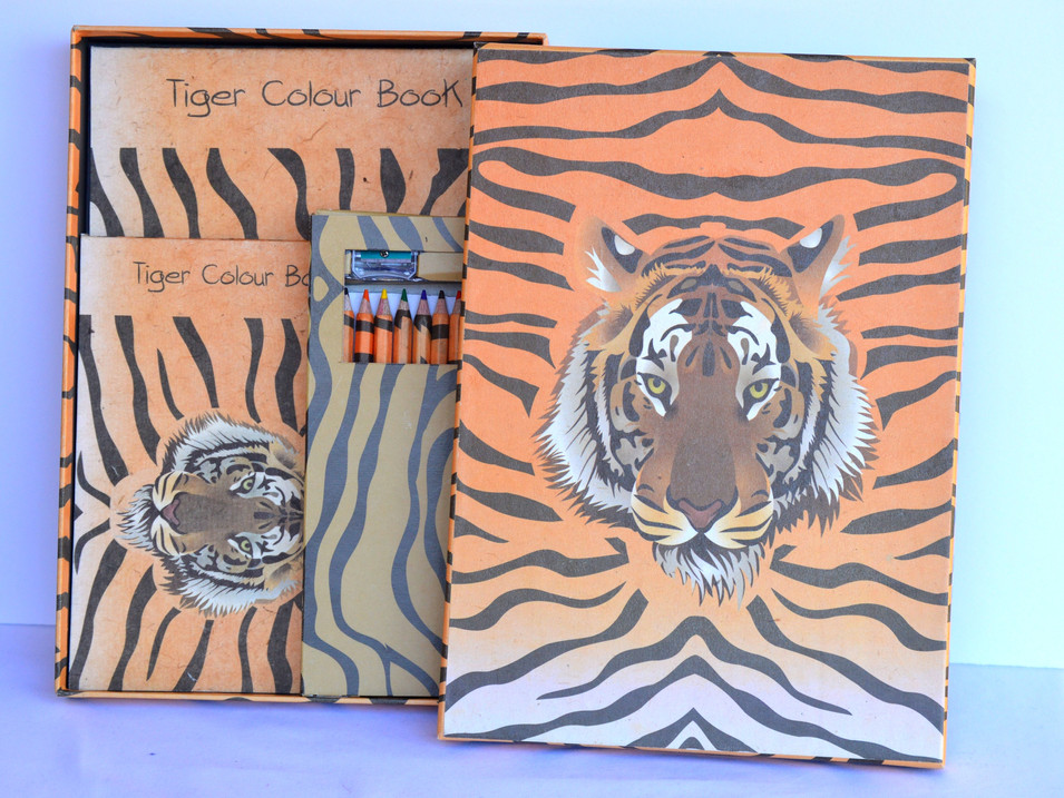 Color Book Tiger