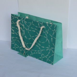 Bag Blue Fabric Small