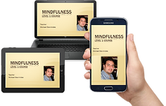 Mindfulness Online Course - Laptop - Tab