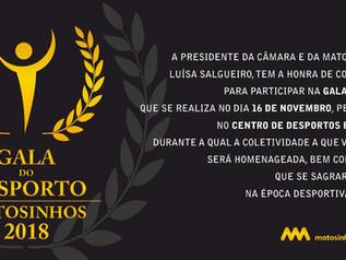 Gala do Desporto 2018