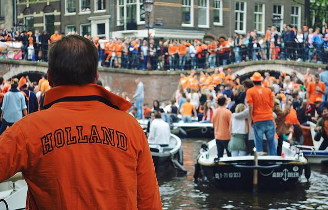 koningsdag, amsterdam, netherlands, kings day, celebration, national holiday, canals