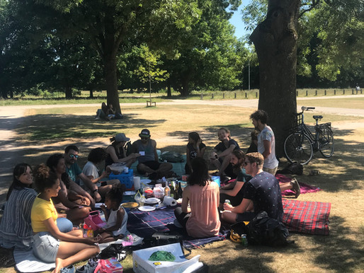 A celebration of international cuisine at Potluck at the Park
