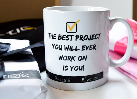 Active MUG  'The Best Project'