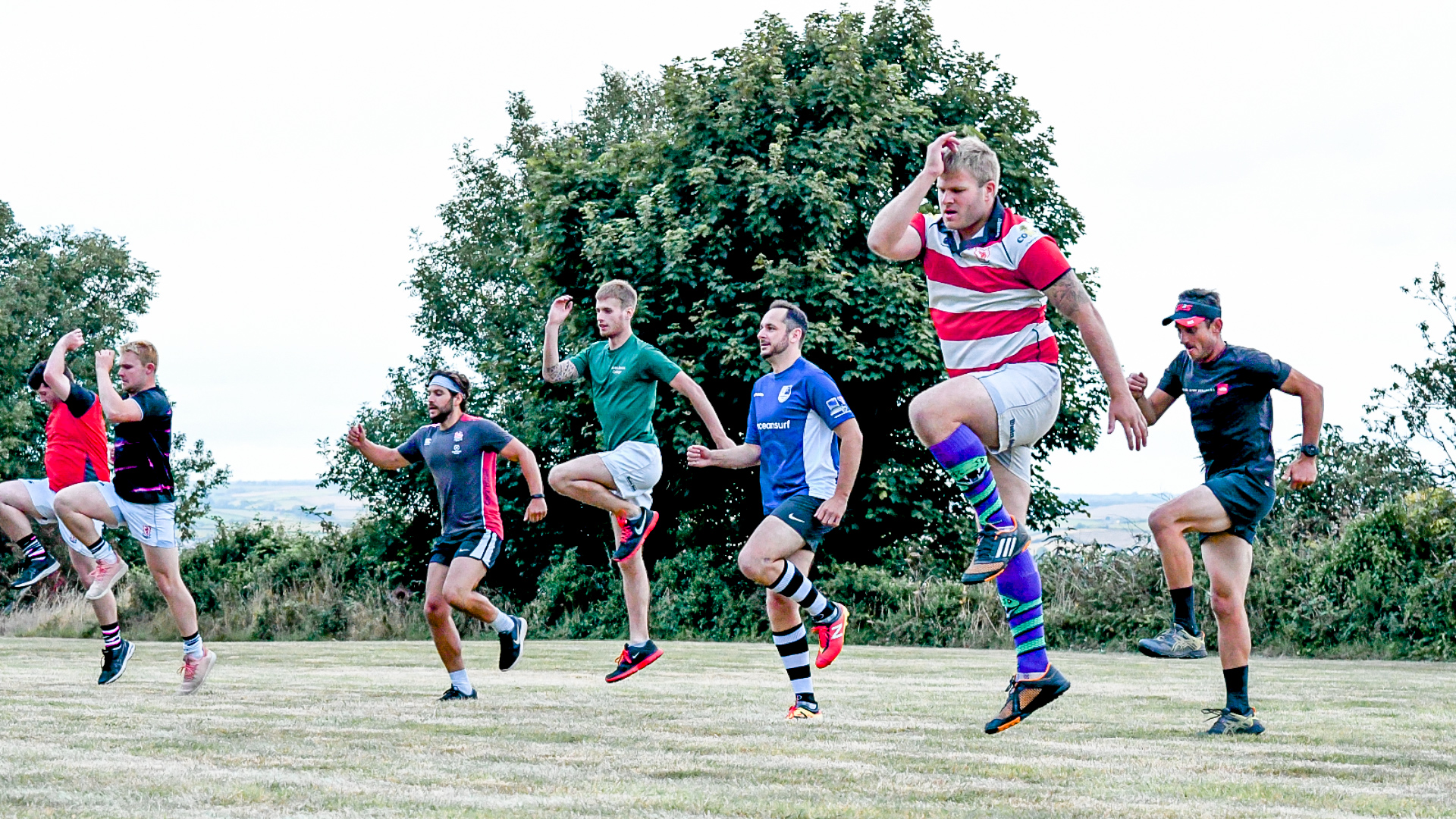 Salcombe RFC Pre-season Training - Augus