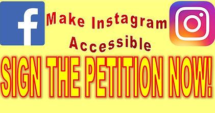 Instagram Petition