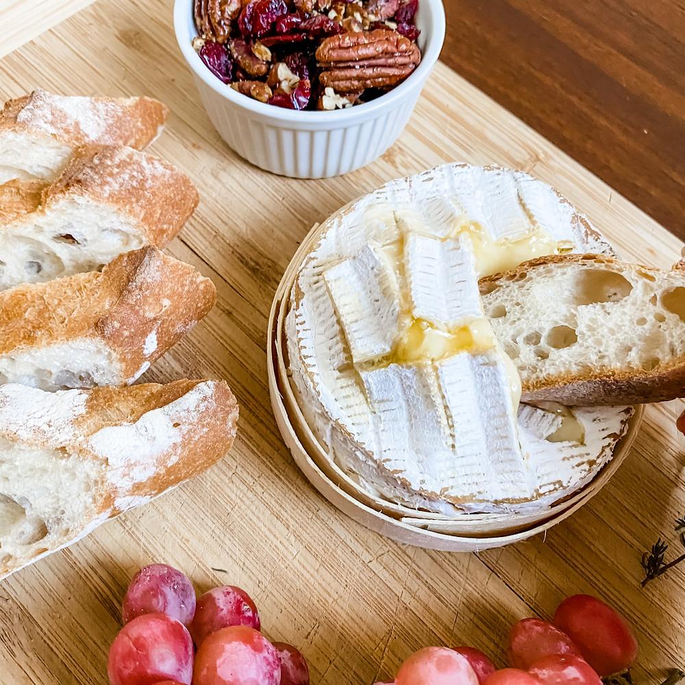 Baked camembert by Rosanna ETC