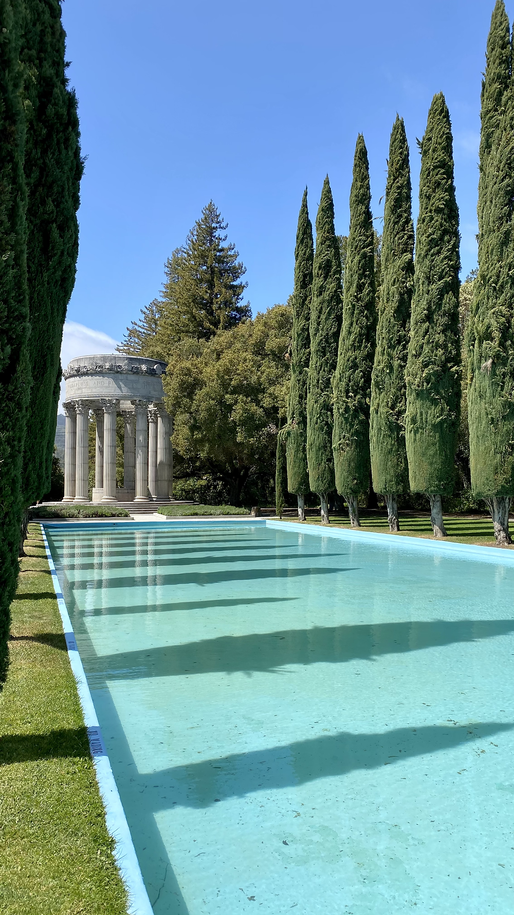 The Pulgas Water Temple in San Mateo County, California