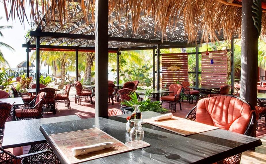 Bonefish Grille at Singing Sands Inn, Belize
