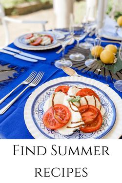 Summer meals by Rosanna Stevens