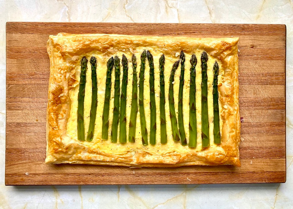Asparagus Tart recipe by Rosanna Stevens