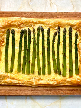 Asparagus Tart - A Quick And Easy Recipe