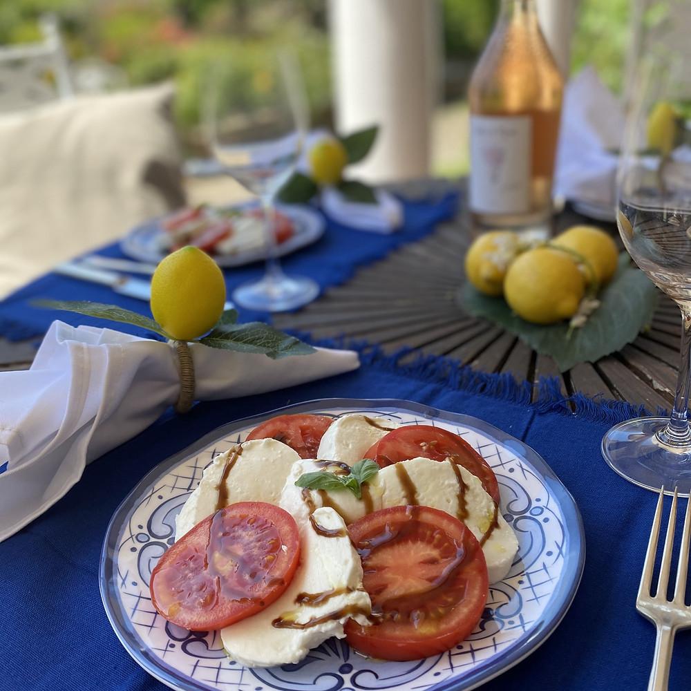 Light lunches - Caprese Salad Recipe