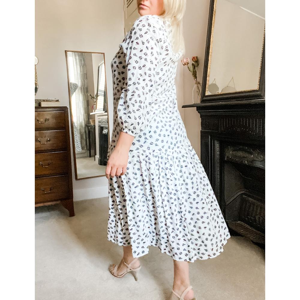 Rosanna ETC in a Zara dress