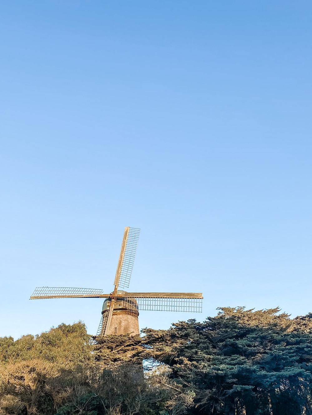 Dutch Windmill in Golden Gate Park, San Francisco