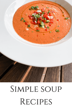 Soup recipes by Rosanna Stevens