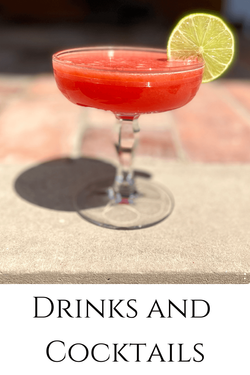 Drinks recipes by Rosanna Stevens