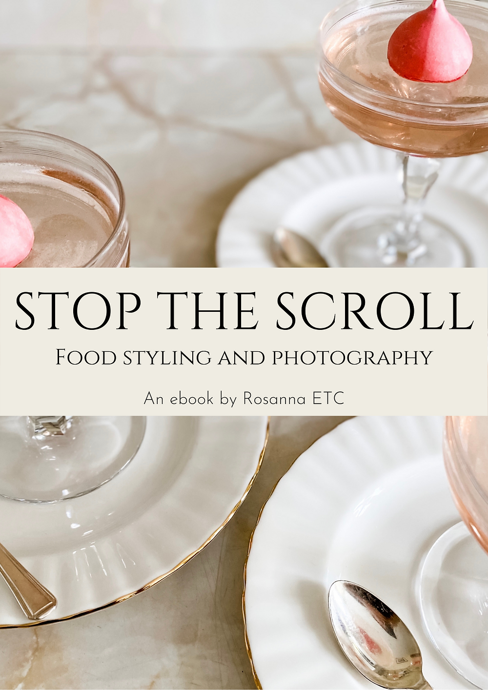 Front cover of Rosanna ETC ebook Stop the Scroll