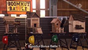 Boomhut Battle: Team Rood op kop!