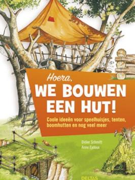 Een boek vol coole ideeën voorhet maken van hutten, speelhuisjes en tenten.