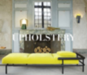 Upholstered pieces : sofas, archairs and daybeds