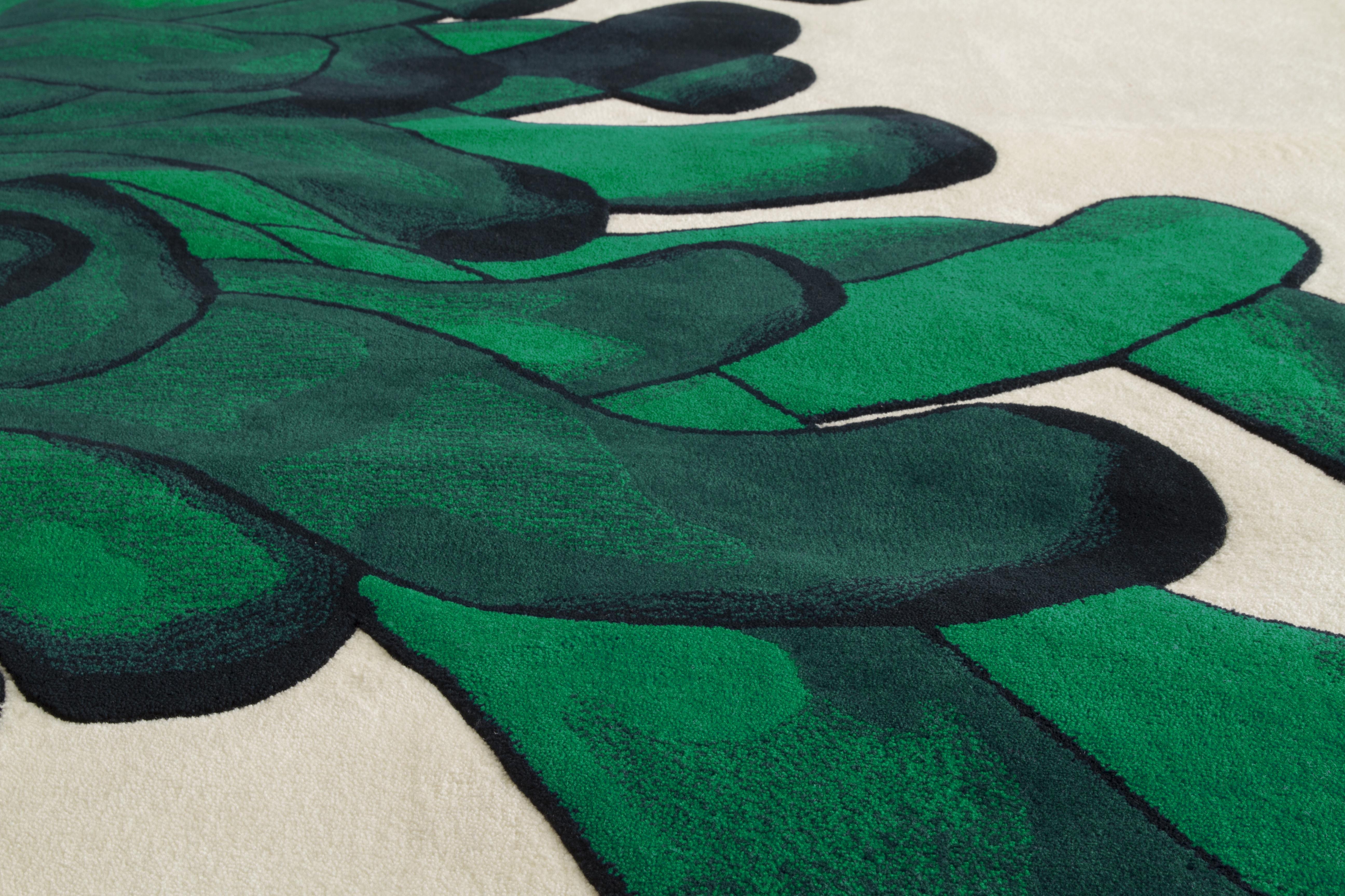 CARPET ANEMONES 05 -green