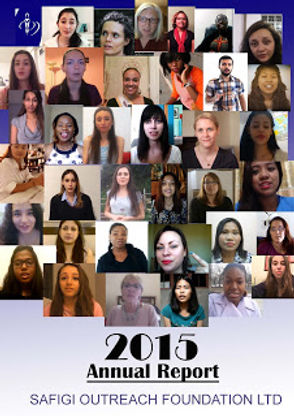 ANNUAL REPORT 2015 Safigi outreach found