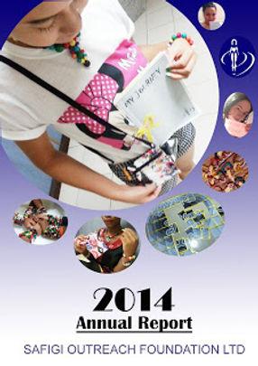 Annual report 2014 safigi outreach found