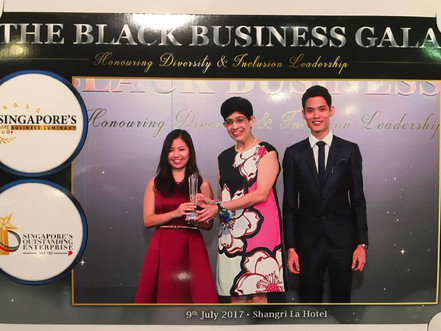 Awarded the Singapore Outstanding Enterprise 2016/2017