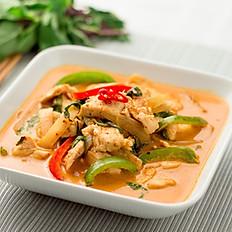 35. Thai Chicken Red  Curry