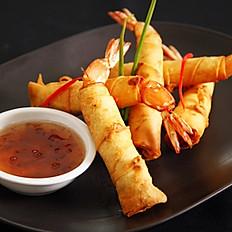 5. Deep Fried Shrimp Wraps
