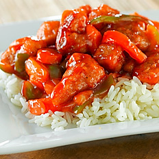 30. Sweet and Sour Pork or Chicken