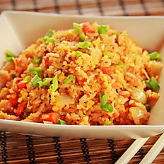 34. Special Fish Eggs and Shrimp Fried RIce