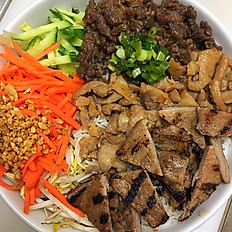 43. Deluxe Bowl - Choice of 3 Kinds of Meat