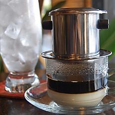 Vietnamese Ice Coffee With Condensed Milk