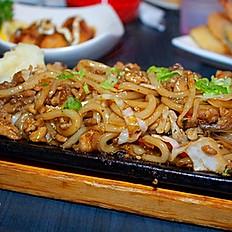 27. Udon Noodles Stir Fry