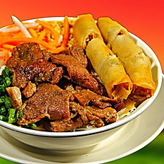 40. Spring Rolls (2) and Choice of Meat