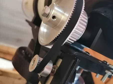 DIY gear reduction for 100mm Esprit focuser