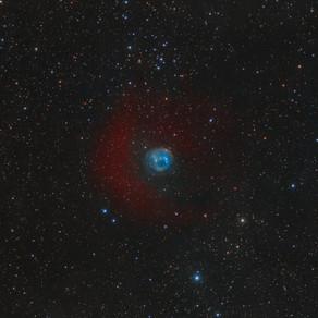 Ancient planetary nebula HDW2
