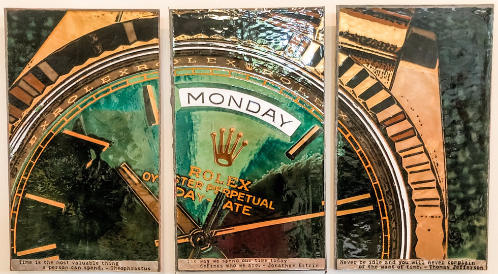 Monday Triptych