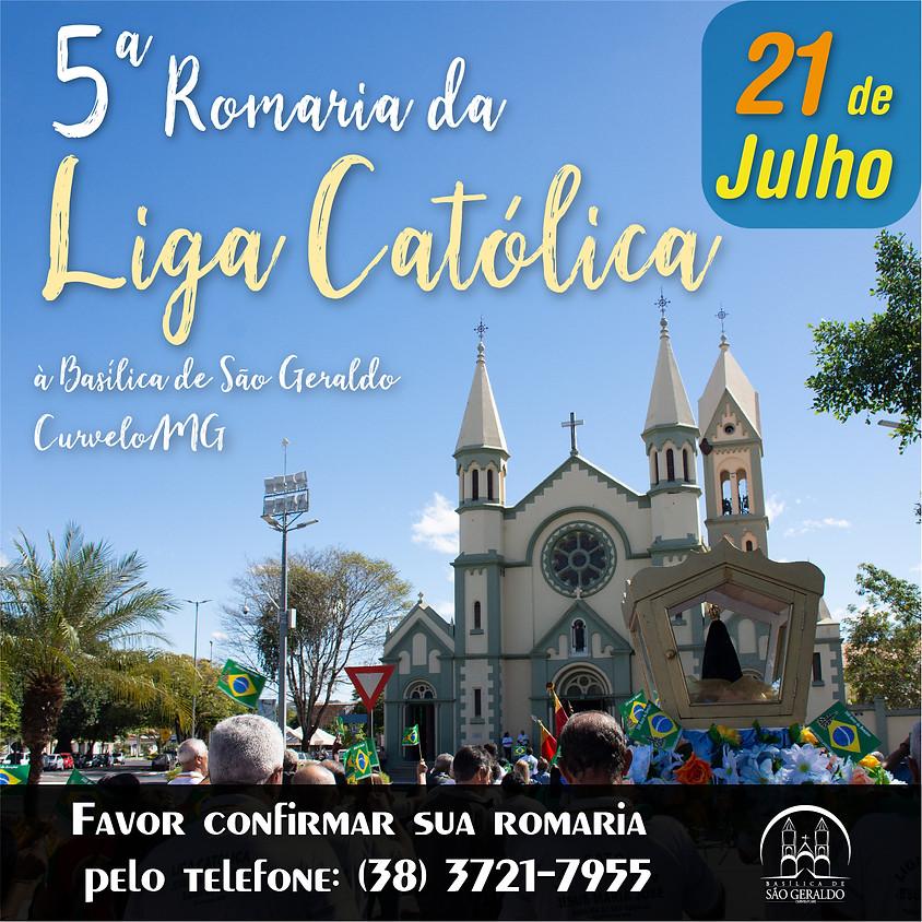 5ª Romaria Arquidiocesana da Liga Católica JMJ