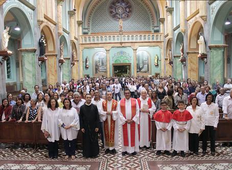 Confraternização dos colaboradores da Basílica de São Geraldo