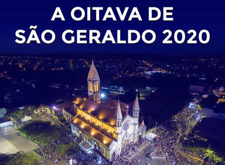 COMUNICADO SOBRE A OITAVA DE SÃO GERALDO 2020