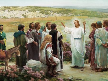 Jesus no quotidiano com seus discípulos