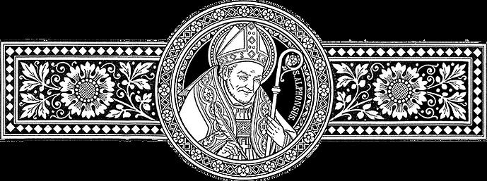 Figura representativa de Santo Afonso Maria de Ligório.