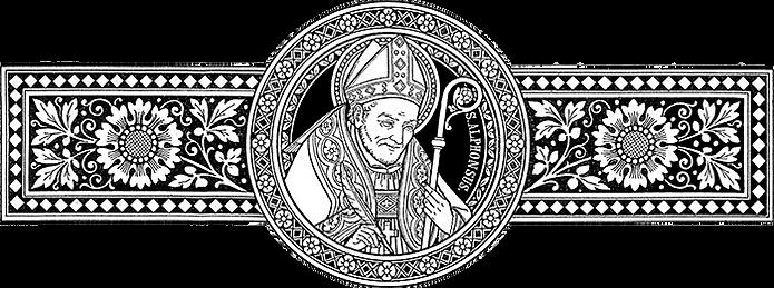 Figura representativa de Santo Afonso Maria de Ligório, Schmalzl, S. Alfonso [Messale 1906]