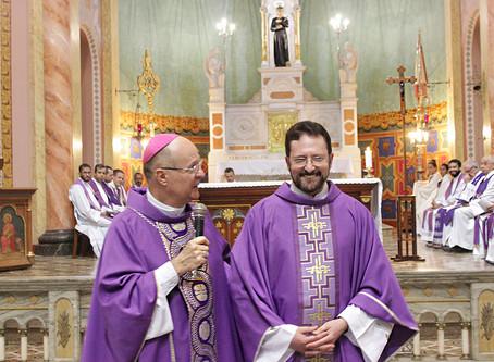 Posse do novo Reitor da Basílica
