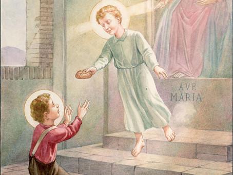 SÃO GERALDO E O MENINO JESUS
